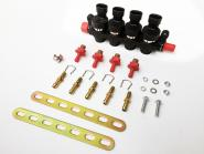 GAS+ S1 Professional Injector 4 Cyl. Rail compl. (2 Ohm, 60 -240 HP)