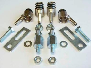 Gasoline Injector Bosch Adapter Set 4 Cyl. 2 O- Rings -6 mm Tube