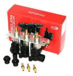 Barracuda Professional Injector 3 Cyl.  Rail. compl (1,9 Ohm, 45 - 150 HP)