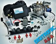 AEB 2/3/4 Cyl. MP48 DIGITRONIC MINI-KIT , Frontkit with Alaska Super, 1 x AEB I-Plus 4 Cyl.
